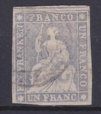 Switzerland 1855-57 # 31a Helvetia - VG-F Used