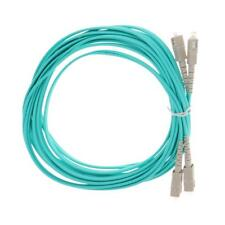 SC to SC Duplex Multimode 50/125 Fiber Jumper Patch Cable SC to SC 5Meter