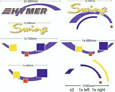Motorhome camper van Sticker Decal Graph HYMER  Swing vinyl graphic / decals / +