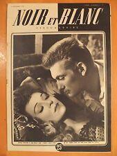 NOIR et BLANC N° 188 du 15/09/1948-Edwige Feuillère & Jean Marais, un grand film