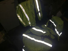 REFLECTIVE VEST Western Safety Neon Yellow LARGE three of them