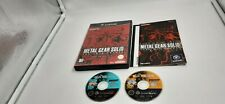 Jeu Nintendo Gamecube Game Cube Metal Gear Solid The Twin Snakes complet