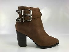 Womens Lace Up High Heel Ankle Boot Booties Stiletto Platform Almond Toe Shoes