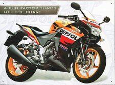 Honda CBR250 R Respol Metall Deko Schild