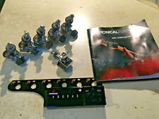 Tronical Automatic Robotic Tuners for Fender 6 on a Side Strat Tele