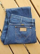 Vintage NOS Wrangler Men's 13MWZ Cowboy Cut Orig Fit Denim Blue Jeans 40 x 32