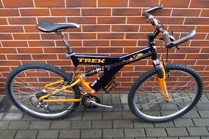 MTB Trek Y5 bike 19 in Manitou Answer Shimano Deore XT/ STX RC / LX Fox Vanilla