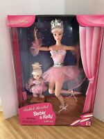 Ballet Recital Barbie And Kelly Gift Set 1997 Bendable, Poseable Body's