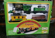 Vintage Train Set American Western Express 1988 Toy State Ind. BATTERY OP