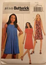 Butterick 'Fast and Easy' B5349 Dress Pattern  Sizes 6 to 12