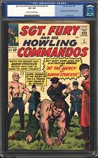 Sgt. Fury and His Howling Commandos 5 CGC 8.5