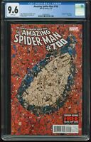 Amazing Spider-Man # 700 FIRST PRINT CGC-GRADED 9.6 NM+ DEATH OF PETER PARKER