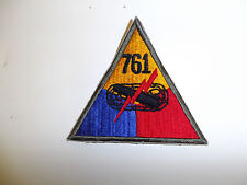 b0604-761 WWII US Army Armored Tank Battalion Triangle patch 761st PB3