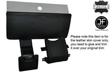 BLACK STITCHING 3X DASH TRIM LEATHER SKIN COVERS FITS VW BEETLE CLASSIC 1303
