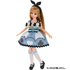 Licca chan Doll outfit Clothes dress Alice wonderland rare Japan Takara Tomy F/S