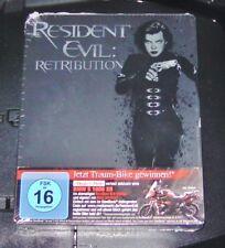 Resident Evil 5 Retribution Limitada Steelbook Edición Blu Ray Nuevo & Emb.orig