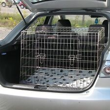 Pet world NEW SLOPED MAZDA 6 02-07  CAR DOG CAGE BOOT TRAVEL CRATE PUPPY GUARD