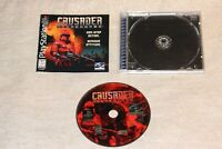Crusader No Remorse (PlayStation 1 1996) Complete & TESTED