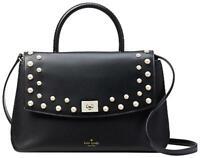 Kate Spade Serrano Place Pearl Dorina Top Handle Convertible Satchel $459 New