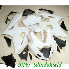 Unpainted White ABS Injection Mold Fairing Cowl For SUZUKI GSXR 1000 2005-06 K5
