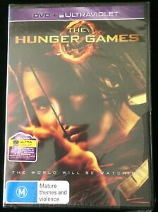 THE HUNGER GAMES Jennifer Lawrence, Josh Hutcherson (2012) DVD