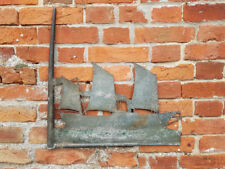 19th Century English Antique Toleware Weathervane of a Paddle Steamer, c.1840-60
