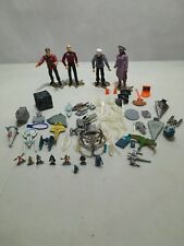 Star Trek Playmates Lot Picard, Kirk Guinan, Miniature Figures Accessories Toys