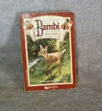 Bambi, A Life In The Woods, Felix Salten, First Minstrel Books Edition 1988 pb