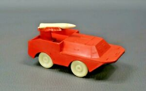 Soviet Russian Military BTR Vehicle Truck Missile Rocket Launcher Plastic Toy