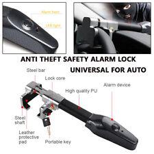 Camper SUV Car Steering Wheel Lock Anti Theft Safety Alarm Lock Universal Kit