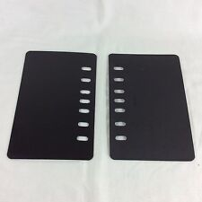 2 End Board Page Lifter Saver Classic Franklin Covey Planner Binder Plastic Pair