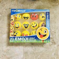 emoji golf balls 12 Emoji Balls