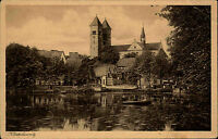 Bad Klosterlausnitz Thüringen AK ~1920/30 Fachwerkhäuser Fachwerk Stadt Häuser