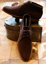 "Edward Green  ""Shanklin"" Mocca Brown Suede Chukka Ankle Boots - UK10.5 - Superb"