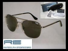 RANDOLPH ENGINEERING AVIATOR GUN METAL SKL Gray MINERAL LENSES 58 mm SUNGLASSES