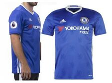 Brand New Genuine Adidas Chelsea 2016/17 Home Shirt + EPL Patches Junior L 11-12