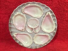 Antique German Porcelain Oyster Plate c.1856-1918, op320  Gift Quality!!