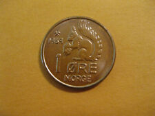 New listing 1969 Norway Squirll coin 1 Ore uncirculated beauty classic coin !