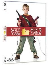 SOLO EN CASA 1 + 2 DVD PACK COMPLETO 2 DVD NUEVO ( SIN ABRIR )