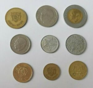 Lote Monedas Marruecos