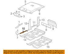 GM OEM Interior-Sill Plate Left 10359439