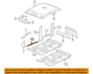 GM OEM-Door Sill Plate Left 10359437