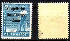 SBZ MiNr. 189 d ** postfrisch BPP (m18_3)