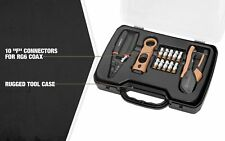 Southwire Tools & Equipment KIT-C1 13-Piece Cable TV Tool Kit - Cut, Strip