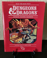 VG+! Dungeons & Dragons 1st Edition DUNGEON MASTERS RULEBOOK 1983 1st print