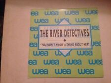 """RIVER DETECTIVES SPANISH SAME SIDED 7"""" SINGLE SPAIN YOU DON'T KNOW INDIE POP"""
