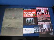 Bon Jovi 2008 Japan Tour Book Concert Program w Ticket John Sambora Lost Highway