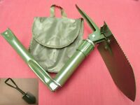 Camping Gardening Tri-Folding Shovel/Pick/Saw Military Style Heavy Duty