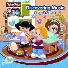 NEW Discovering Music Songs & Games Little People (Audio CD)