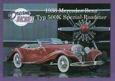 1936 Mercedes Benz Typ 500K, Imperial Palace C LV, Car Trading Card Not Postcard